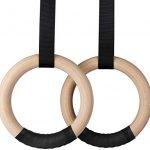 anillas de madera gimnasia