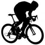 vinilo pared ciclismo
