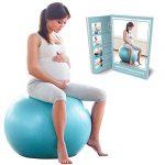 ejercicios embarazo pelota