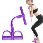 ejercicios con bandas elasticas para abdomen