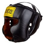 casco boxeo piel