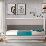 cama abatible horizontal conforama