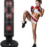 entrenamiento kick boxing saco