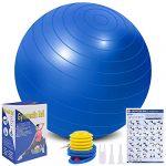 tabla de ejercicios para embarazadas con pelota