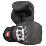 guantes de boxeo piel