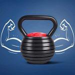 ejercicios con pesas rusas para mujeres