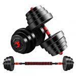 ejercicios cuadriceps peso libre