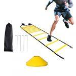 ejercicios de velocidad con escalera