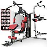 ejercicios de espalda con maquinas
