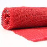tela de saco roja